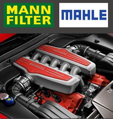 Anuncio de Filtros Mann Filter y Mahle