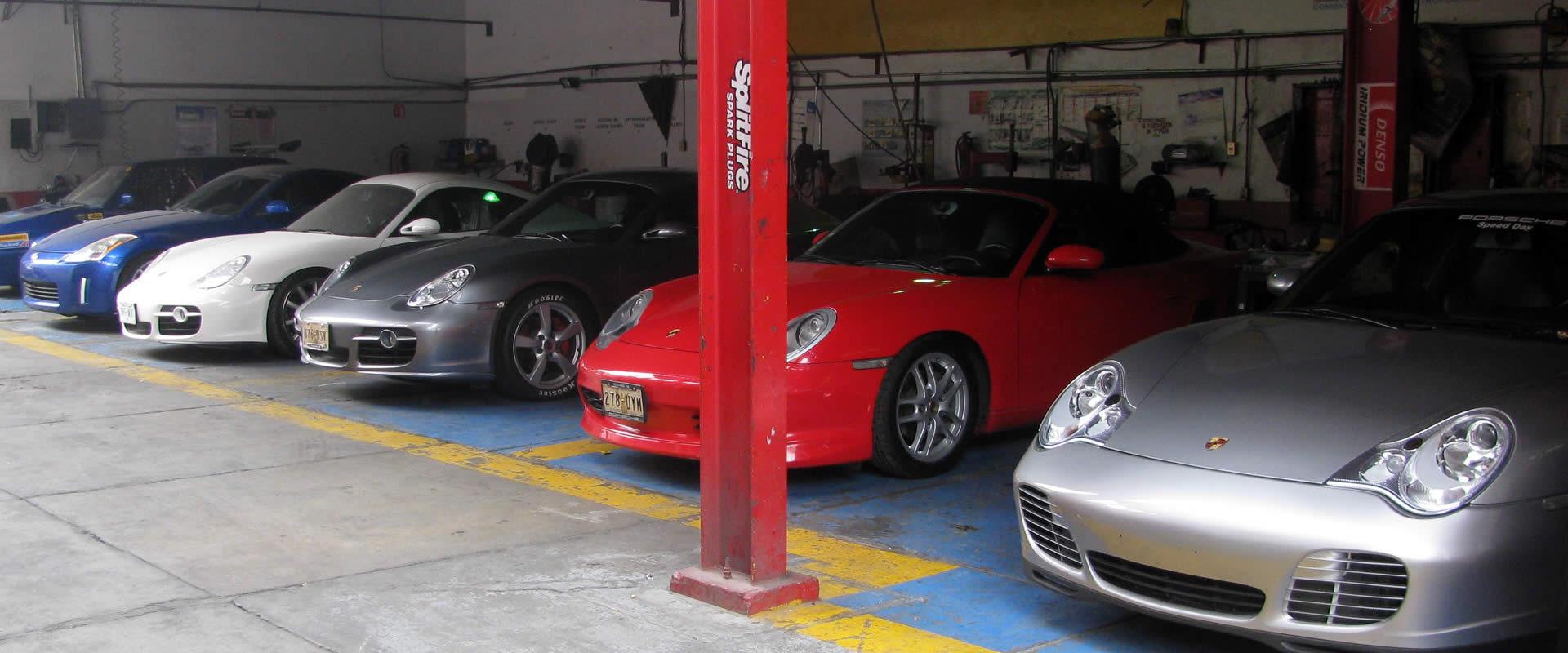 Mantenimiento Porsche