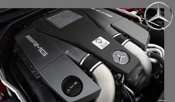 motor marca Mercedes Benz