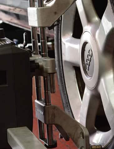 Alineación de ruedas