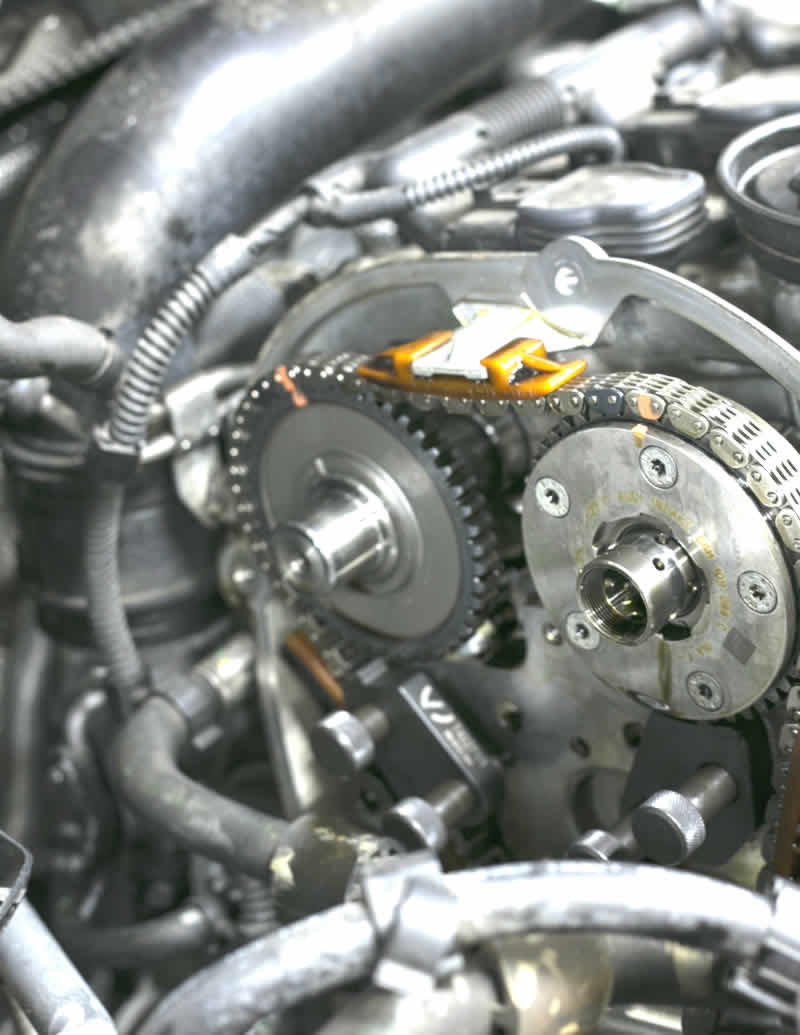 reparación de cabeza de motor