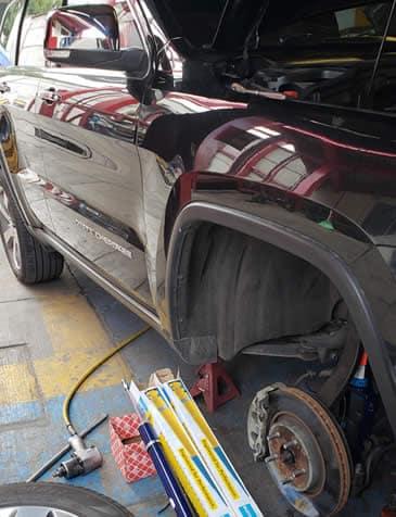 Cambio de frenos y amortiguadores