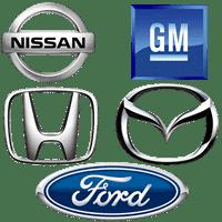Logo de reparación de Ford Nissan Honda Mazda Chevrolet