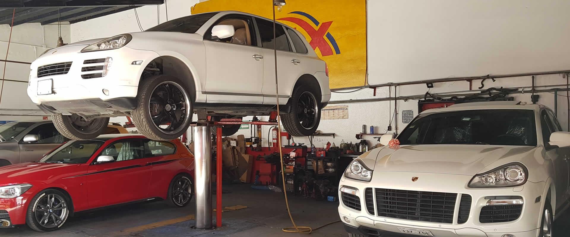 Reparacion suspension neumatica Porsche