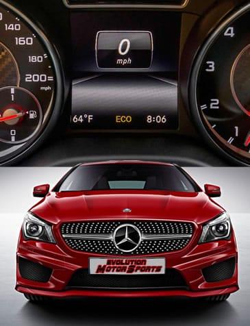 Tablero de Mercedes Benz con assyst plus
