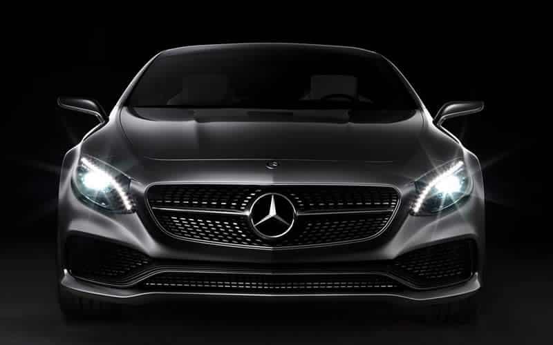 Frente de Mercedes Benz