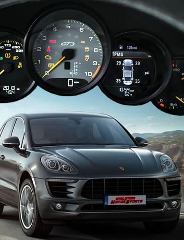 Tablero de Porsche