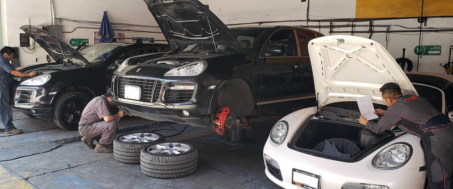 Taller Especialista Porsche