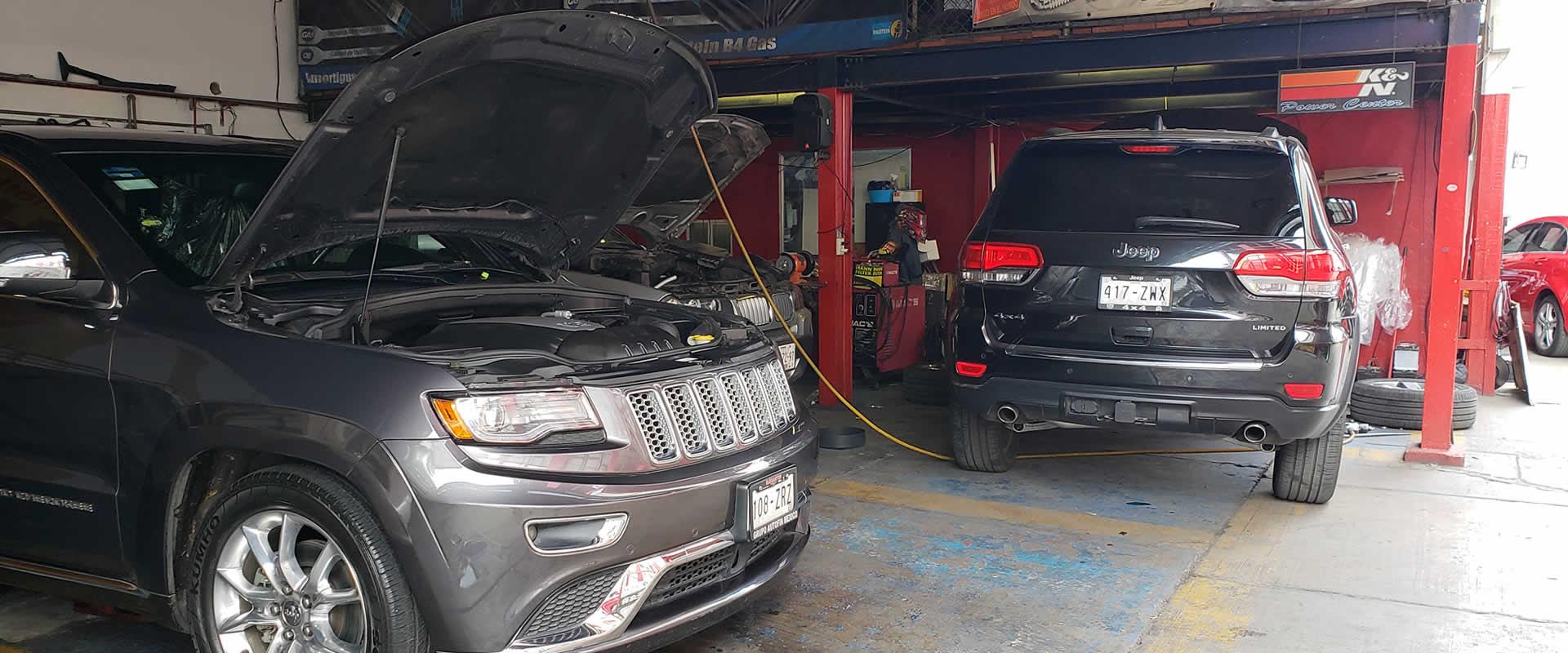 taller mecanico jeep cherokee