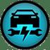 icono taller mecánico automotriz
