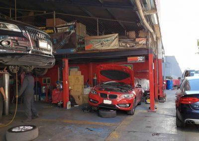 Taller de reparación de suspensiones